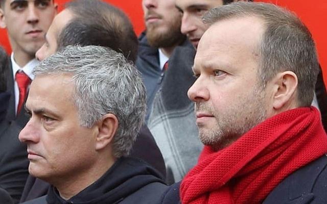 Ed Woodward realising Jose Mourinho was a mistake
