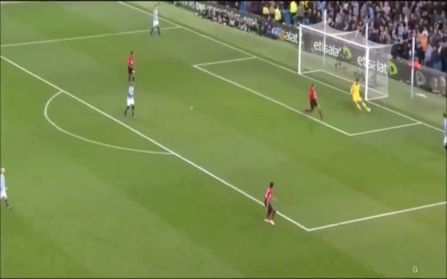 Video: City's Ederson shows off wonderful distribution vs United