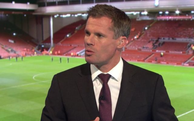 Manchester United fans spat at by Jamie Carragher urge Sky Sports not to sack disgraced pundit