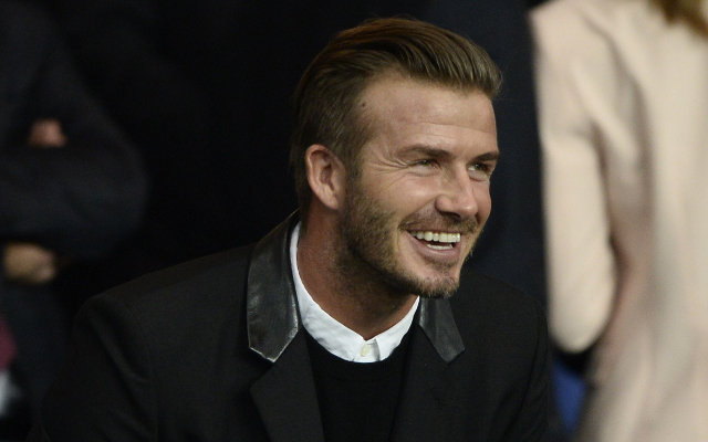 (Photo) David Beckham posts cheeky snap of Victoria out and about in Malibu