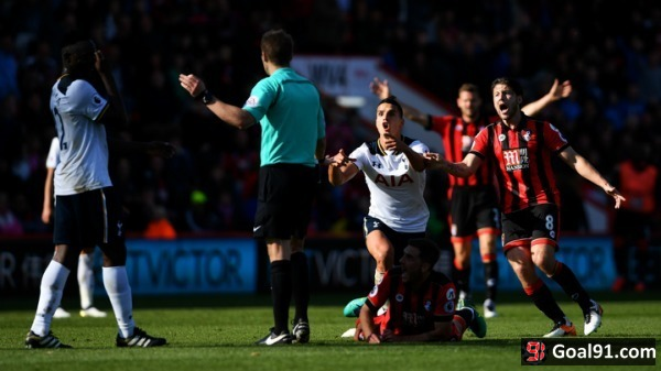 Premier League: Cherries hold toothless Spurs
