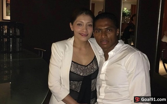 Antonio Valencia sex scandal: Man United star claims he's single amid rumours he cheated on wife with Sophie Vagsaeter