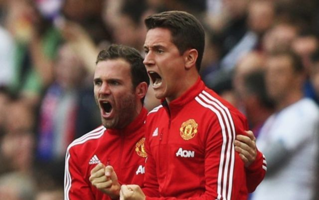 Man United's Ander herrera