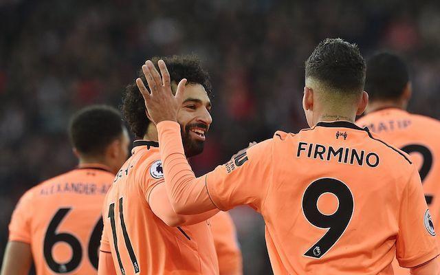Firmino and Salah Liverpool