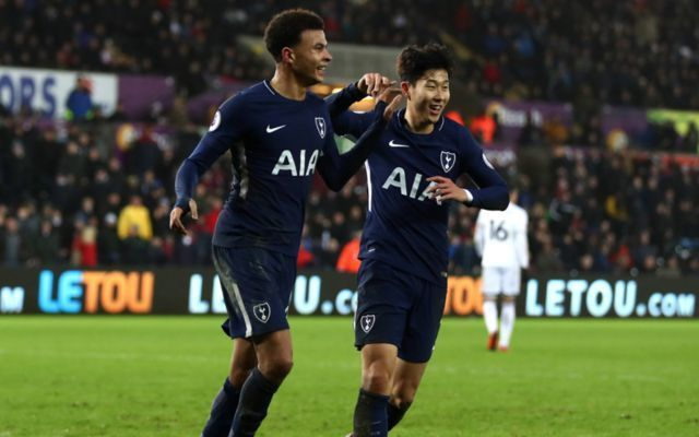 Swansea 0-2 Tottenham player ratings, stats and reaction: No Kane, no problem for Pochettino as Spurs leapfrog Arsenal with win
