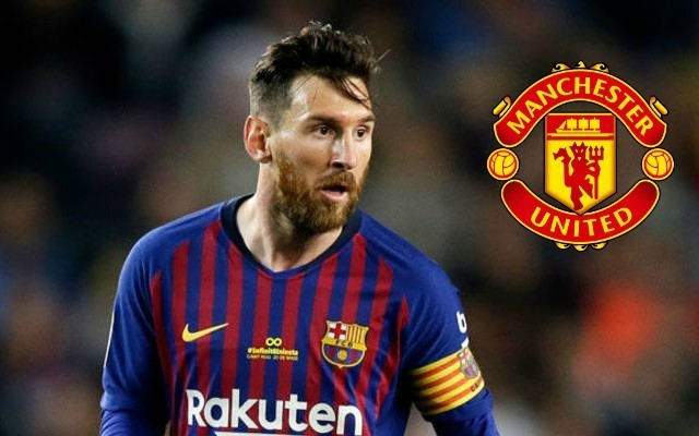 Lionel Messi urges Barcelona to deal blow to Manchester United's transfer plans