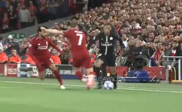 Video: Liverpool's Milner tackle on Neymar, Klopp reaction
