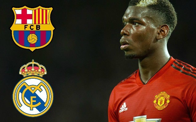 Paul Pogba hints to international team-mates he's preparing to leave Man United for La Liga transfer | Goal91