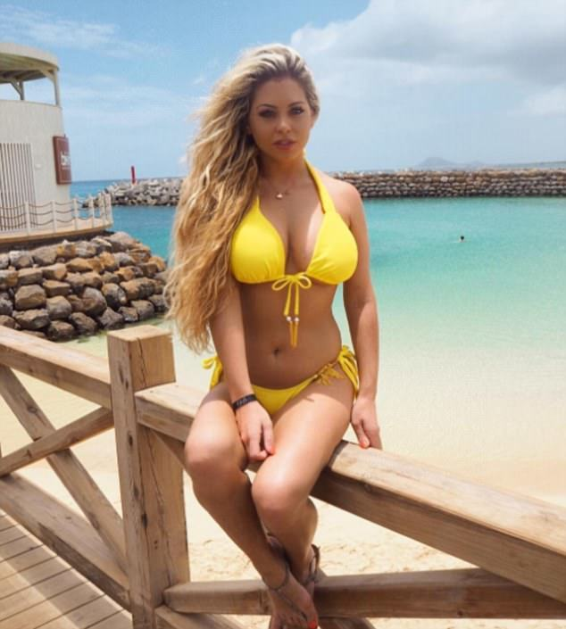 bianca gascoigne bikini