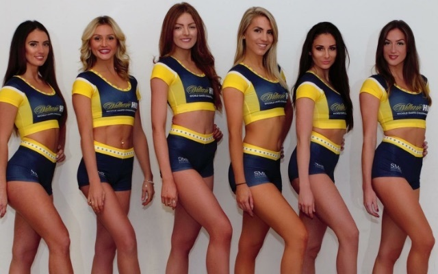 (Photos) Meet the hot PDC darts dancers adding a touch of glamour to the World Championship at Ally Pally this year