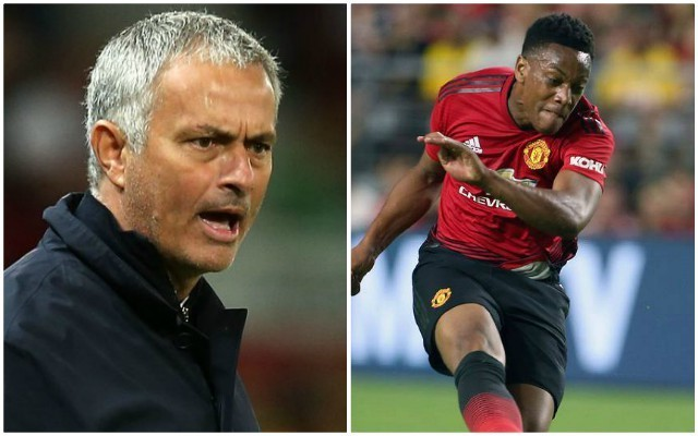 What Jose Mourinho said about Anthony Martial after Man Utd win opening game