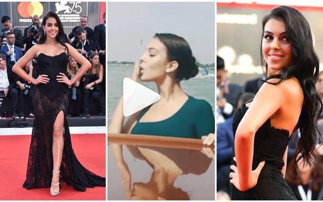 Photos: Georgina Rodriguez looks STUNNING as she wows crowd at Venice Film Festival