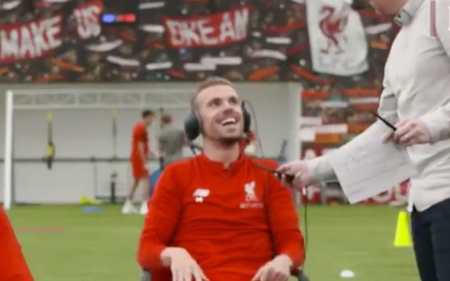 Video: Jordan Henderson left in STITCHES, producer says pregnant wife can WAIT after shoot interrupted