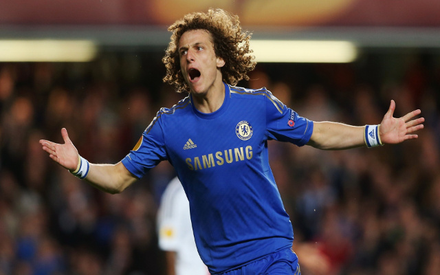 (Photo) David Luiz praises Chelsea teamwork following Middlesbrough win