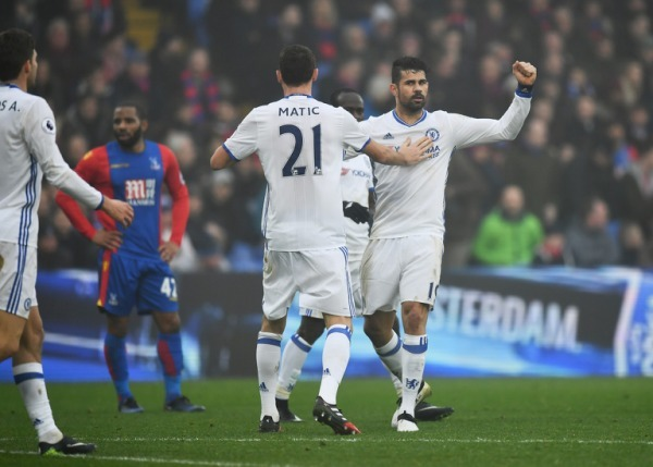 Premier League: Costa strike fires Chelsea nine points clear