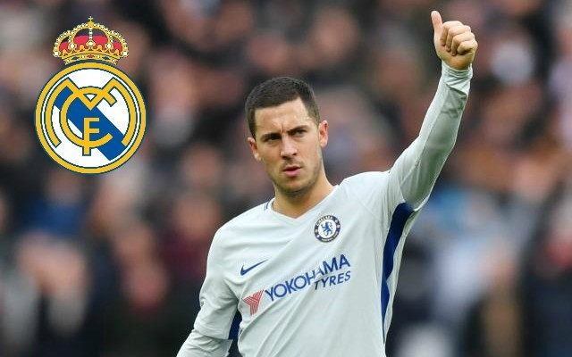 La Liga legend urges Eden Hazard to force through a transfer to Real Madrid