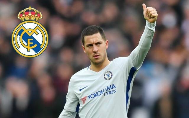 La Liga legend urges Eden Hazard to force through a transfer to Real Madrid
