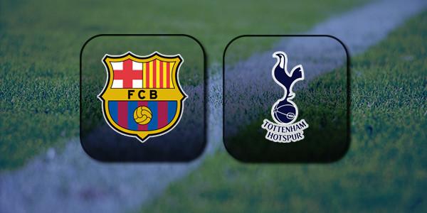 VIDEO Barcelona vs Tottenham Hotspur (Champions League) Highlights