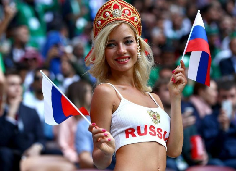 Porn star Natalya Nemchinova is Russia's hottest World Cup fan, claims newspaper as her swinging past is discovered | CaughtOffside
