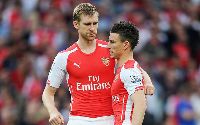 (Image) Arsenal defender tells followers to 'work hard dream big'