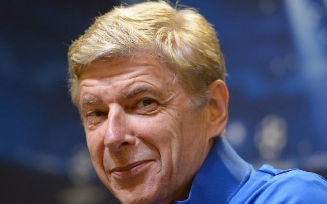 Smug Arsene Wenger