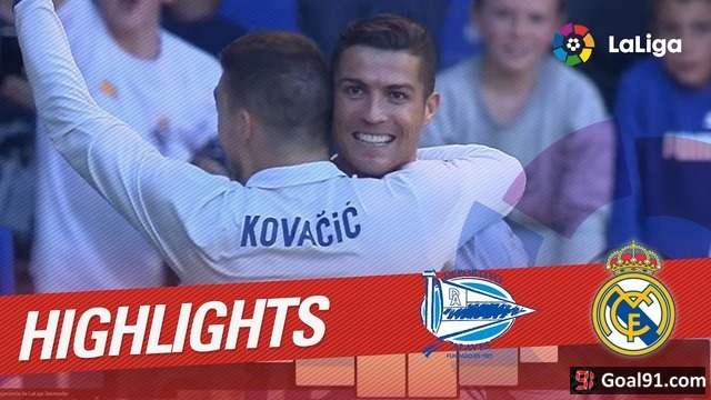 VIDEO: Cristiano Ronaldo claims another hat-trick as Real Madrid win 4-1