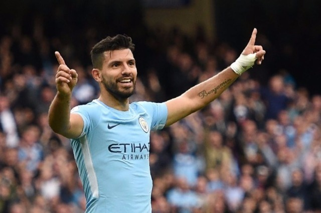 Sergio Aguero of Man City