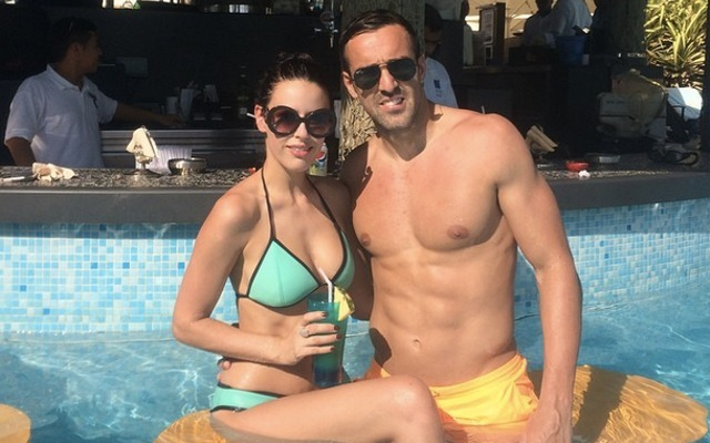 Hot WAG Amy Jaine and Liverpool's Jose Enrique