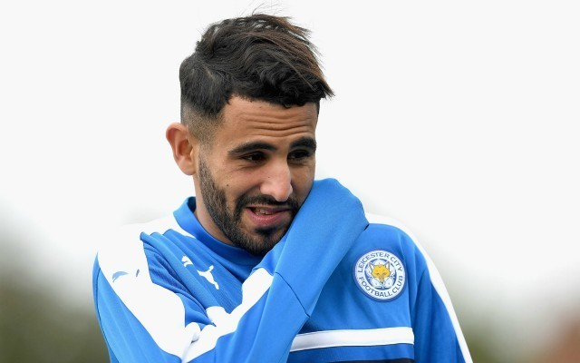riyad mahrez training