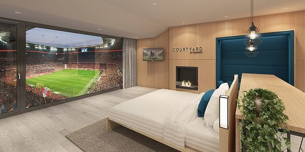 Bayern Munich team up with Marriott so fans can watch their team from bed