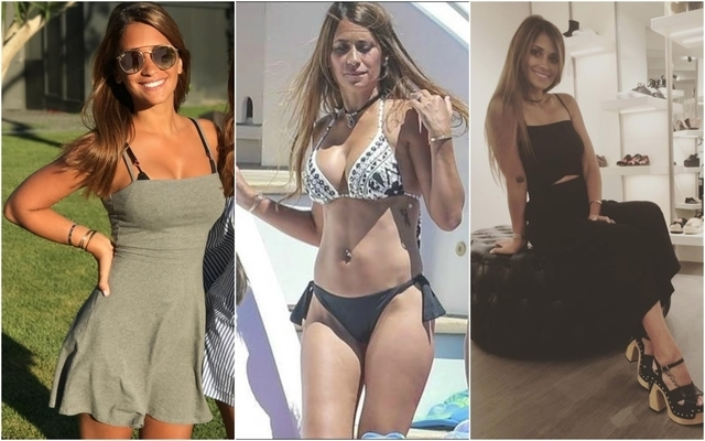 Lionel Messis Gorgeous Wife Antonella Roccuzzo Lets Slip Sex Of Third Child