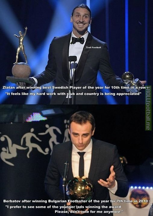 Berbatov had no chill