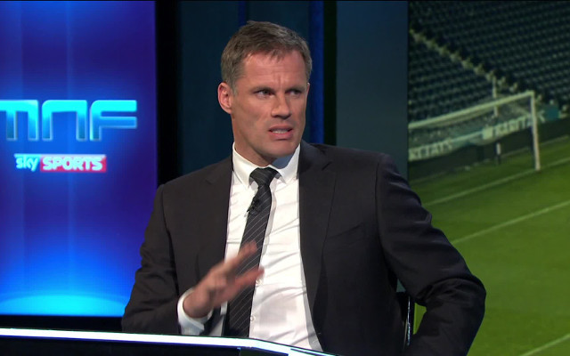 """Not far off the size of a horse"" - Jamie Carragher mocks fellow Sky Sports pundit"
