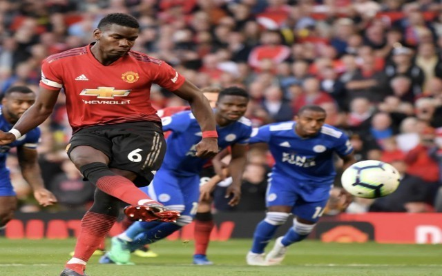 Roma troll Manchester United after Paul Pogba penalty vs Leicester