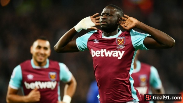 EFL Cup: West Ham reach quarter-finals after seeing off Chelsea as fans clash