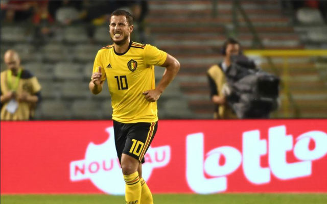 Eden Hazard injury update Belgium