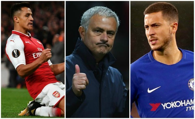 Alexis Sanchez, Gareth Bale: Power ranking Manchester United's nine attacking transfer targets, with £90m Chelsea star ahead of Real Madrid duo
