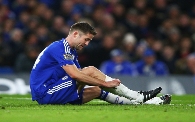 (Video) Chelsea captain gets destroyed by fans, sent off after 14 minutes in absolute nightmare start for champions
