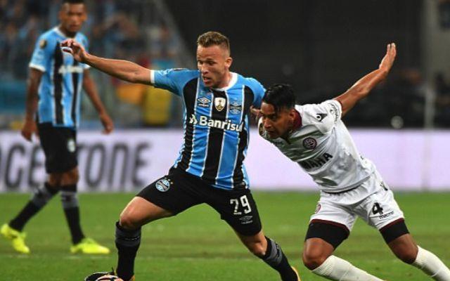 Gremio midfielder Arthur