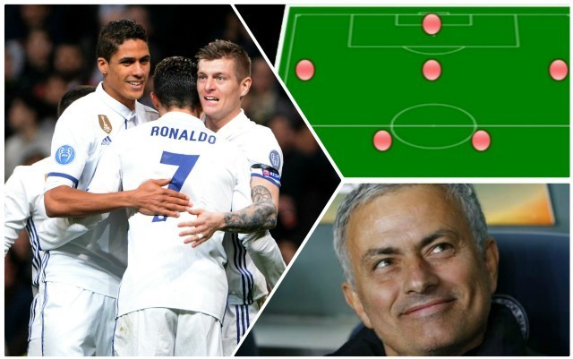 Manchester United's stunning 2018/19 XI with seven new signings: Raids on Chelsea & Tottenham lined up as Jose Mourinho bids to close the gap on Manchester City