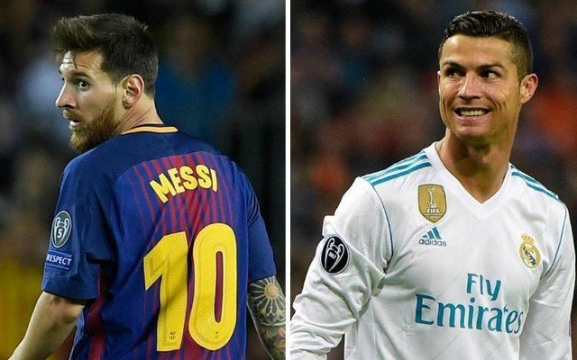 Cristiano Ronaldo and Lionel Messi in their own category