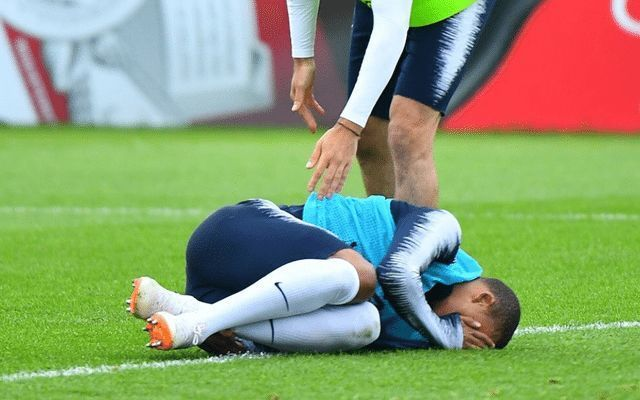 Kylian Mbappe injury: France star provides key update, jokes with Adil Rami