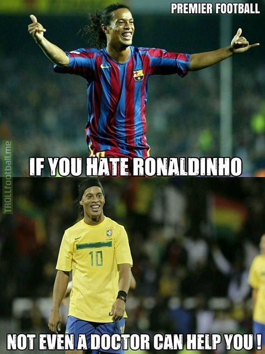 Image result for Ronaldinho memes
