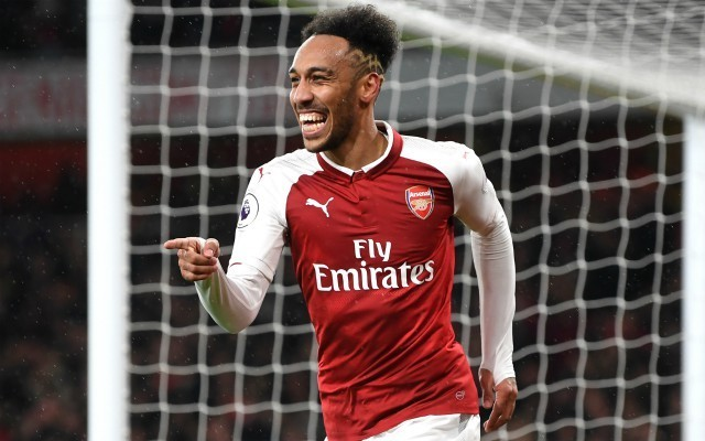 Pierre-Emerick Aubameyang reveals phone calls from Arsenal ace helped convince him to join