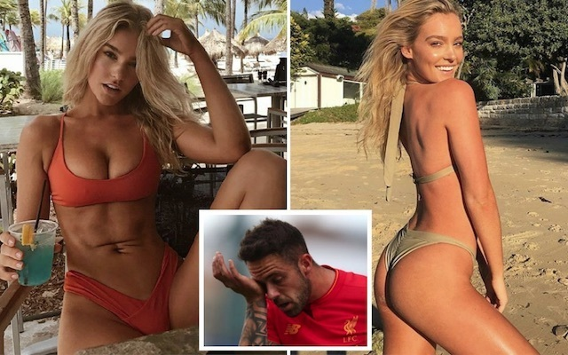 Danny Ings WAG Georgia Gibbs prepares to leave for Australia as Liverpool striker is linked with West Bromwich Albion loan