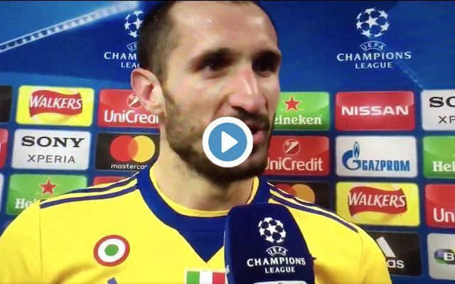 Video: Arsenal fans love the moment Juventus superstar brutally trolls Tottenham in post-match interview