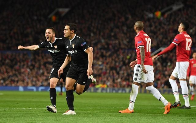Wissam Ben Yedder dumps Man Utd out of Champions League, Mourinho faces barrage of criticism