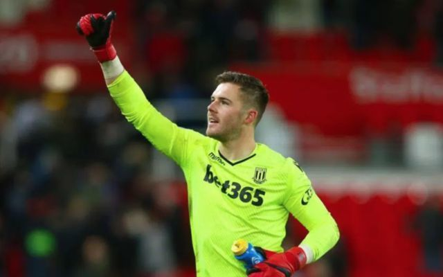 Stoke's Jack Butland. Premier League relegation odds: Who is favourite to go down as Stoke relegated