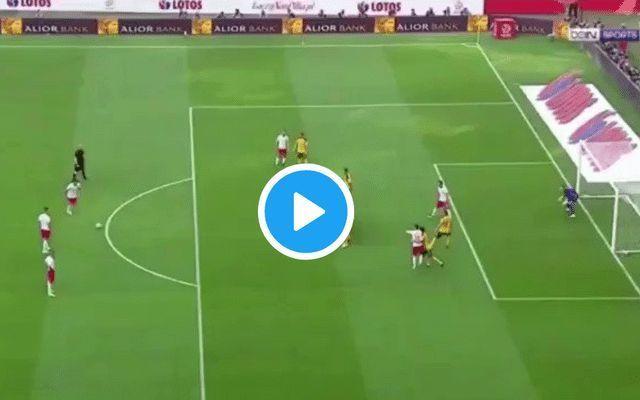 Video: Robert Lewandowski scores STUNNING free-kick amid ongoing Man Utd, Chelsea speculation