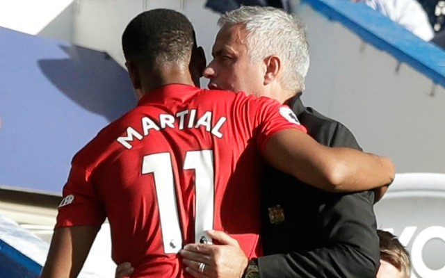 Mourinho reveals the approach he took to get the best out of Martial at Manchester United